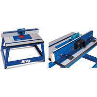Prs2100 kreg benchtop router table kreg - Kreg router table accessories ...