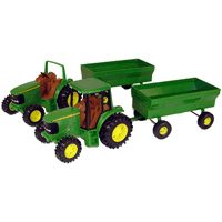 8IN JD TRACTOR W/WAGON