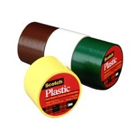 1-1/2X125IN BRWN PLASTIC TAPE