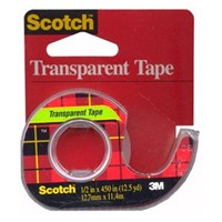 1/2X500IN TRANSPARENT TAPE