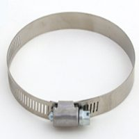 #10 SS HOSE CLAMP/CARBON SCREW