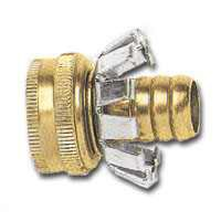 1/2IN BRS HOSE COUPLER CLINCH