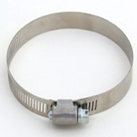 #104 SS HOSE CLAMP/CARBON SCRW