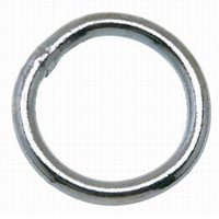WELDED RING ZINC 2-1/2