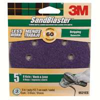 5IN 8HOLE DISC 60GRIT 3PK