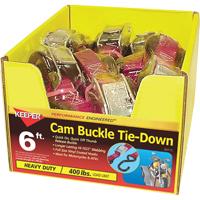 6FT CAM BUCKLE TIEDOWN 1200LB
