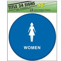 SIGN WOMEN - BLUE ROUND