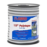 POLY TAPE WHITE 1/2IN 656FT