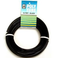 1/4 50FT BLACK POLY TUBE