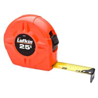 25FTX1 HI-VIS ORANGE TAPE RULE