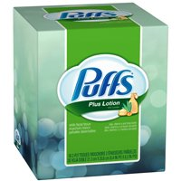 PUFFS PLUS LOTION 56CT CUBE