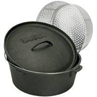 8.5QT DUTCH OVEN W/LID&BASKET