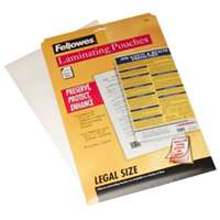 14.5X9 CLEAR LAMINATING SHEETS