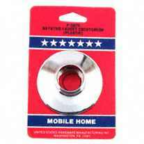 CHROME PLASTIC ESCUTCHEON
