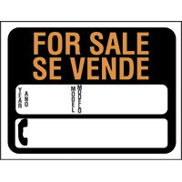 9X12 SIGN BILING AUTO FOR SALE