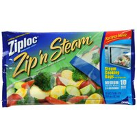 ZIPLOC ZIP N STEAM BAG-MEDIUM