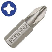 "#2PHILLIPS DRYWALL BIT 1"" 25PC"