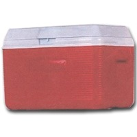 RED VICTORY COOLER 34QT