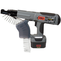 18V CORDLESS COLLATED SCREWGUN