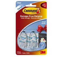 CMD SMALL CLEAR HOOKS