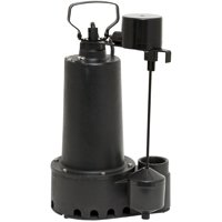 1/2 HP IRON SUMP PUMP