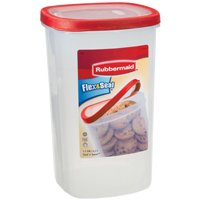 1.1GAL FOOD CONTAINER RED FLEX