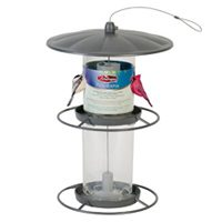 4.5LB PANORAMA MTL BIRD FEEDER