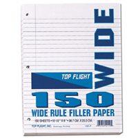 FILLER PAPER WIDE RULE 150-CT