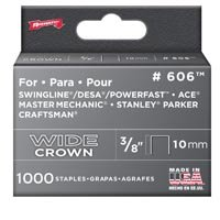 3/8IN WIDE HD STAPLES 1000/BX