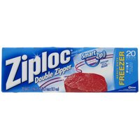 FREEZER BAG PINT ZIPLOC
