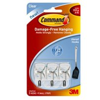 CMD SMALL CLEAR WIRE HOOKS
