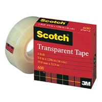 1/2X2592IN TRANSPARENT TAPE
