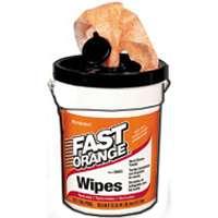 72CT WIPES ORANGE HAND CLEANER