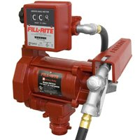 115V AC HD FUEL PUMP & METER