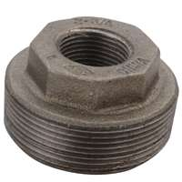 1 1/2X1 BLACK HEX BUSHING