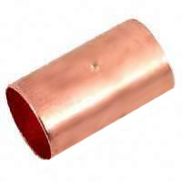"1"" WROT COPPER COUPLING W/STOP"