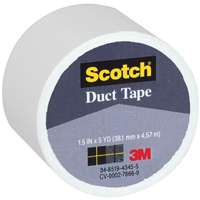 "1.5""X5YD WHITE CLOTH TAPE"