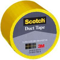 "1.5""X5YD YELLOW CLOTH TAPE"