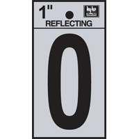 "1"" REFLECTIVE VINYL LETTER O"