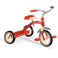 10IN RED TRICYCLE