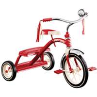 12IN RED TRICYCLE