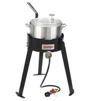 ALUMINUM DEEP FRYER COOKING KT