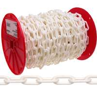 CHAIN PLASTIC WHITE NO.6 100FT
