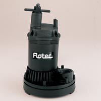 1/6HP SUBMERSIBLE UTILITY PUMP
