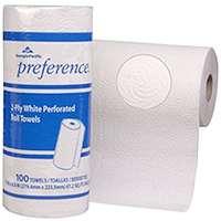 WHITE PAPER TOWEL 30RL/CS