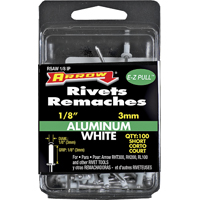 1/8IN ALUM SHORT RIVET WHITE