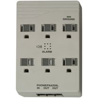 6-OUT SURGE PROTECTOR W/PHONE