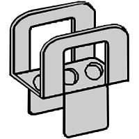 1/2IN STEEL PLYWOOD CLIP
