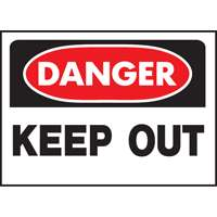 DANGER KEEP OUT OSHA SIGN
