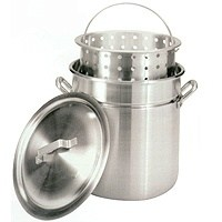 60QT STOCKPOT STEAMER/BASKET